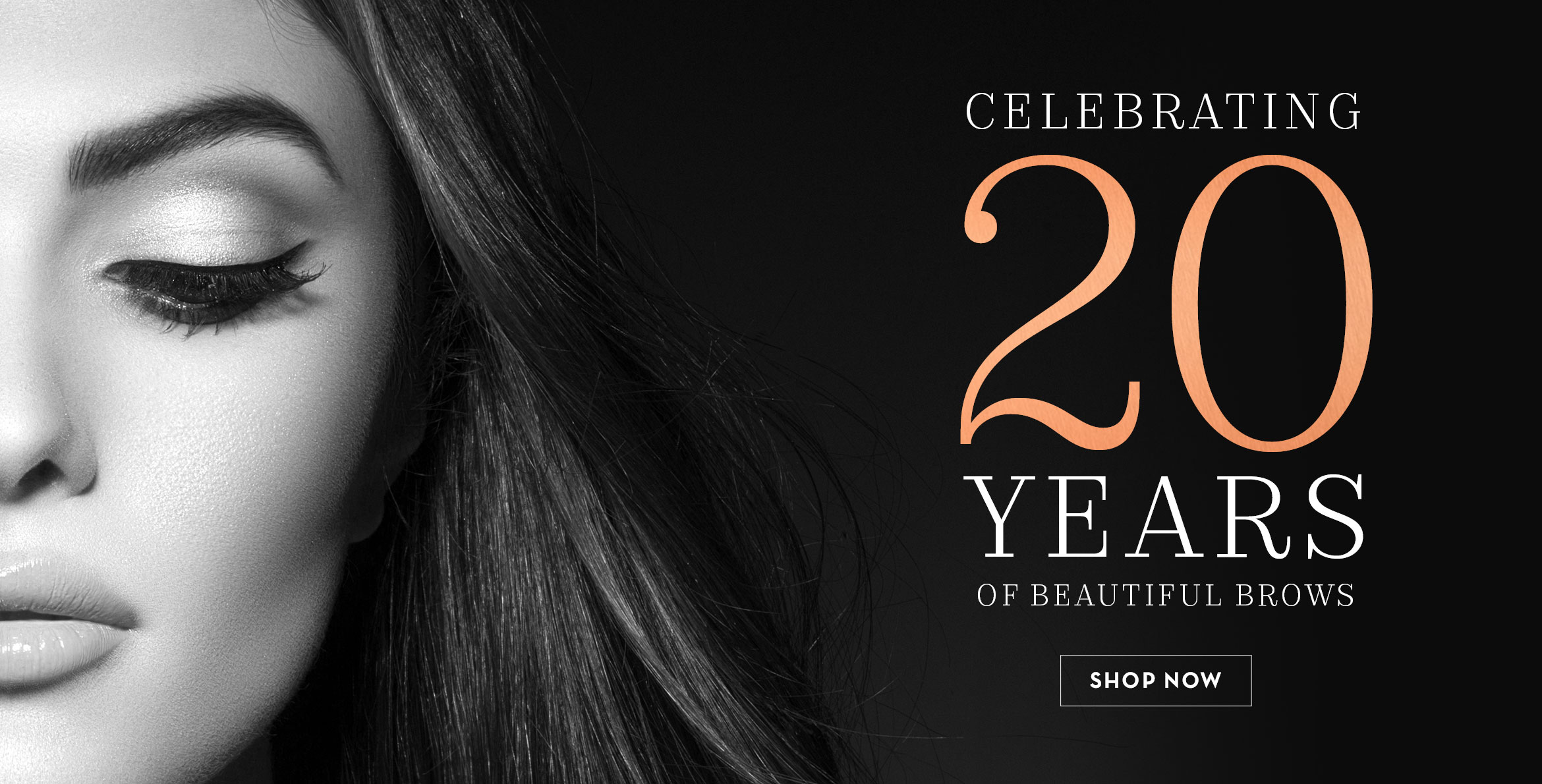 20 Years of Beautiful Brows